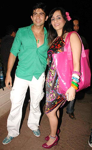 Hussain Kuwajerwala and Tina