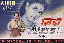 A poster for Ziddi