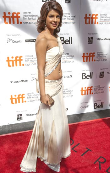 Priyanka Chopra arrives at the Toronto International Film Festival