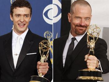 Justin Timberlake and Bryan Cranston