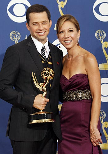Jon Cryer and wife Lisa