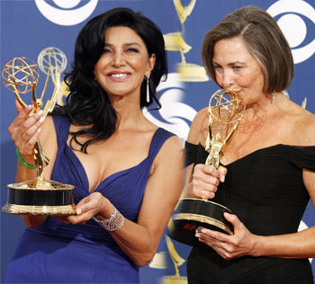 Shohreh Aghdashloo and Cherry Jones