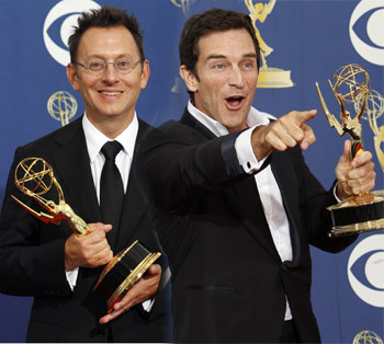 Michael Emerson and Jeff Probst