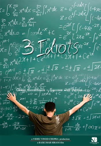 A poster from 3 Idiots
