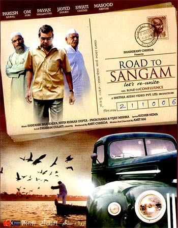 A poster of Road to Sangam