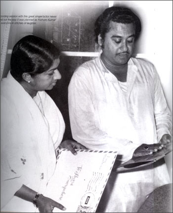 Lata Mangeshkar, in her own voice - Rediff com Movies