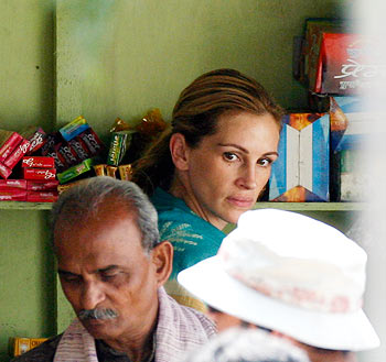 Julia Roberts on the Eat, Pray, Love