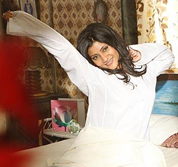 Konkona Sen Sharma in a scene from Luck By Chance