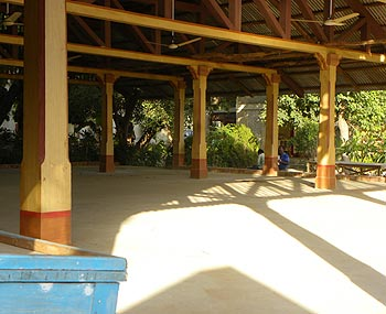 Inside Hari Mandir Ashram