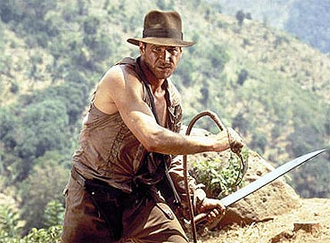 A scene from Indiana Jones and the Temple of Doom