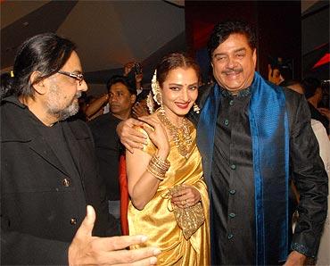 Raj Kanwar, Rekha and Shatrughan Sinha