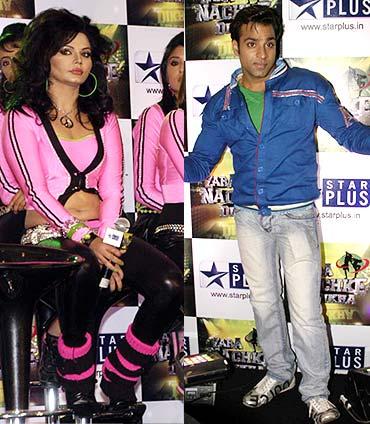 Rakhi Sawant and Abhishek Awasthi