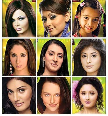 Contestants of Zara Nachke Dikha