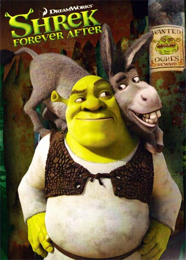 A poster of Shrek Forever After