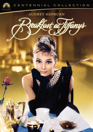 A poster of Breakfast at Tiffany's