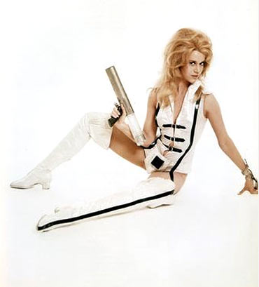 A scene from Barbarella