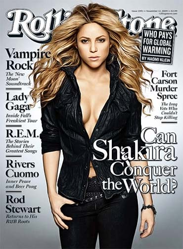 Shakira on Rolling Stone