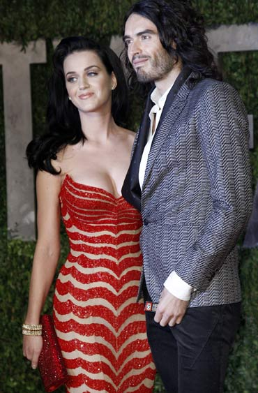 Katy Perry And Rus Brand