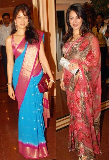 Vidya Malvade and Mahima Choudhry