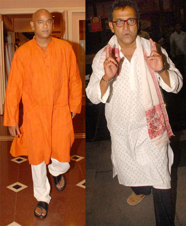 Vinod Kamble and Mahesh Manjrekar