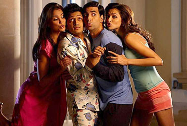 A scene from Housefull