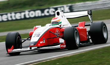 Ajith Kumar at Snetterton