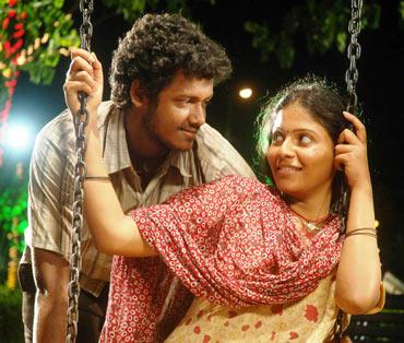 A scene from Angadi Theru
