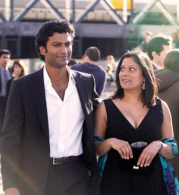 Sendhil Ramamurthy, Goldy Notay in Its a Wonderful Afterlife