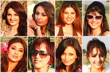 Contestants of Desi Girl