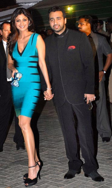 Shilpa Shetty and husband Raj Kundra