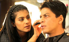 Kajol and Shah Rukh Khan in My Name is Khan