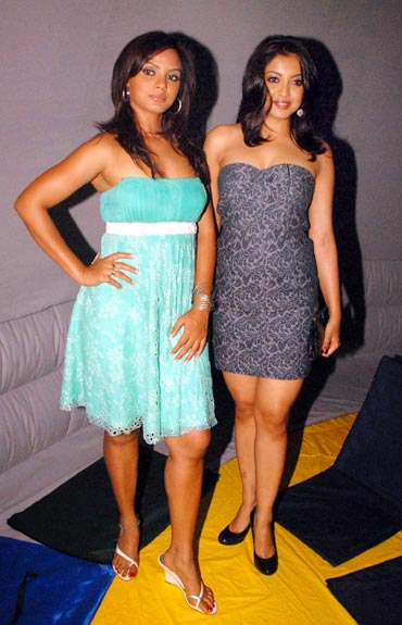 Neetu Chandra and Tanushree Dutta
