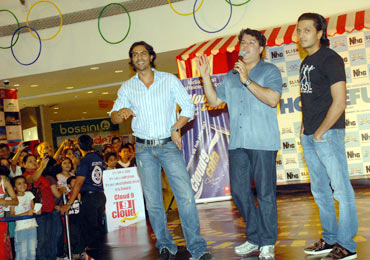 Arjun Rampal, Sajid Khan and Riteish Deshmukh