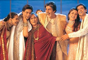 A scene from Kabhi Khushi Kabhie Gham
