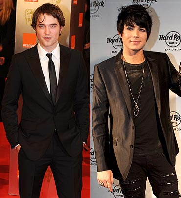 Robert Pattinson and Adam Lambert