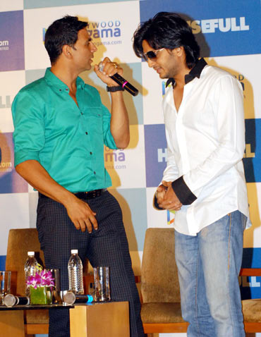 Akshay Kumar and Riteish Deshmukh