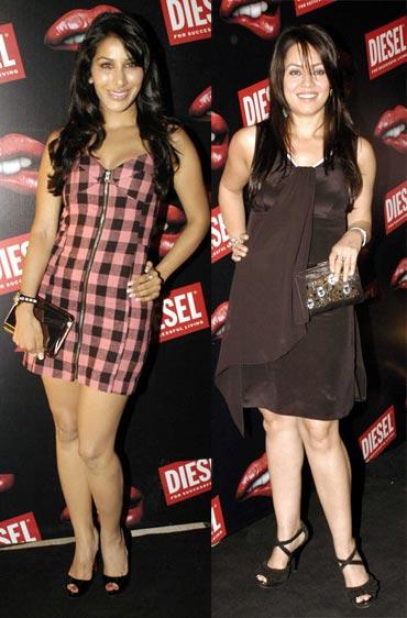Sophie Chaudhary and Mahima Chaudhary