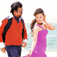 A scene from Endhiran