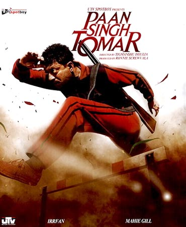 A poster of Paan Singh Tomar