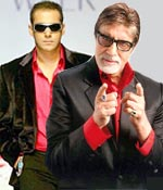 Salman Khan and Amitabh Bachchan