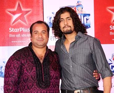 Rahat Fateh Ali Khan and Sonu Nigam