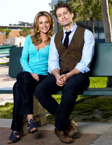 Jessalyn Gilsig and Matthew Morrison