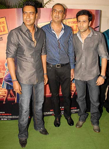 Ajay Devgn, Milan Luthria and Emraan Hashmi