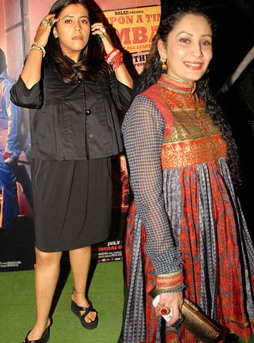Ekta Kapoor and Manyata Dutt