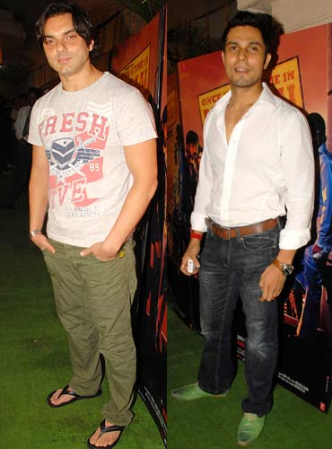 Sohail Khan and Randeep Hooda