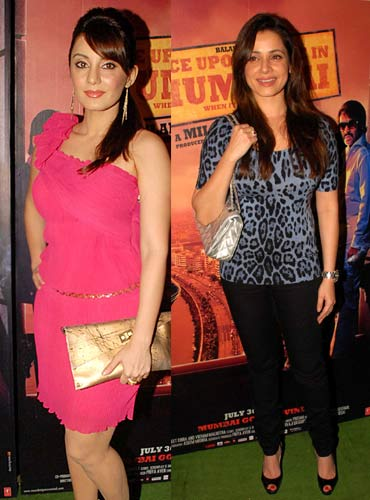 Minissha Lamba and Neelam