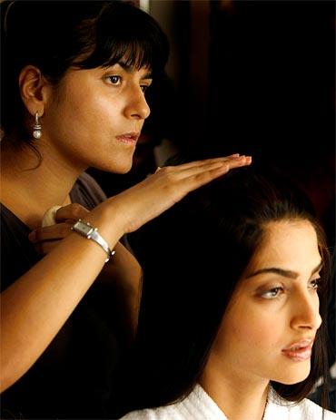 Namrata Soni with Sonam Kapoor
