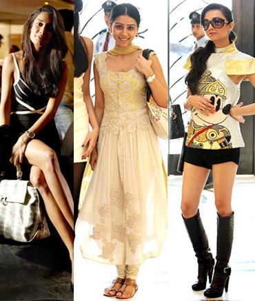 Lisa Haydon, Amrita Puri and Ira Dubey