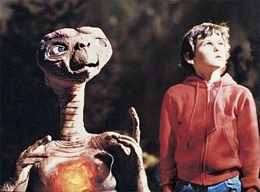 A scene from ET