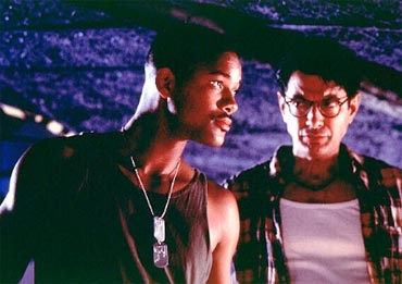 A scene from Independence Day